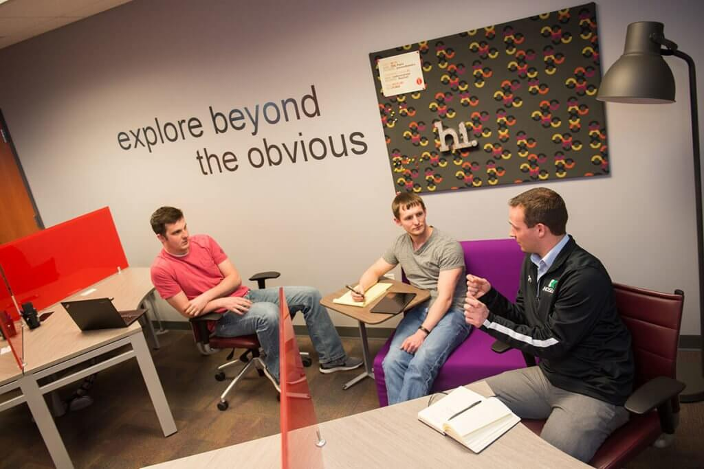 co-working space in Sioux Falls at Zeal